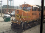 BNSF 8862 In the Yard