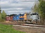 After getting the train back together, Z151-07 pulls south again
