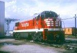 CB&Q U25C 550