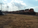 BNSF rock train Carrollton, Tx.