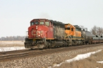 CN 5248 leads a westbound