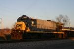 Work train sleeps in siding