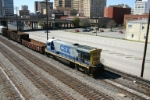 CSX 5874 takes his cars and goes home