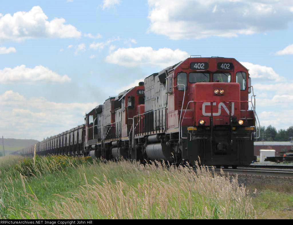 080801024 Northbound DM&IR Minorca ore empties on CN ex-DWP