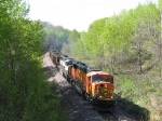 080523009 Eastbound BNSF coal train