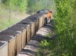 080523011 Eastbound BNSF coal train