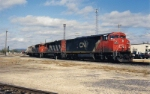 CN 2444 takes #341 East on the BN