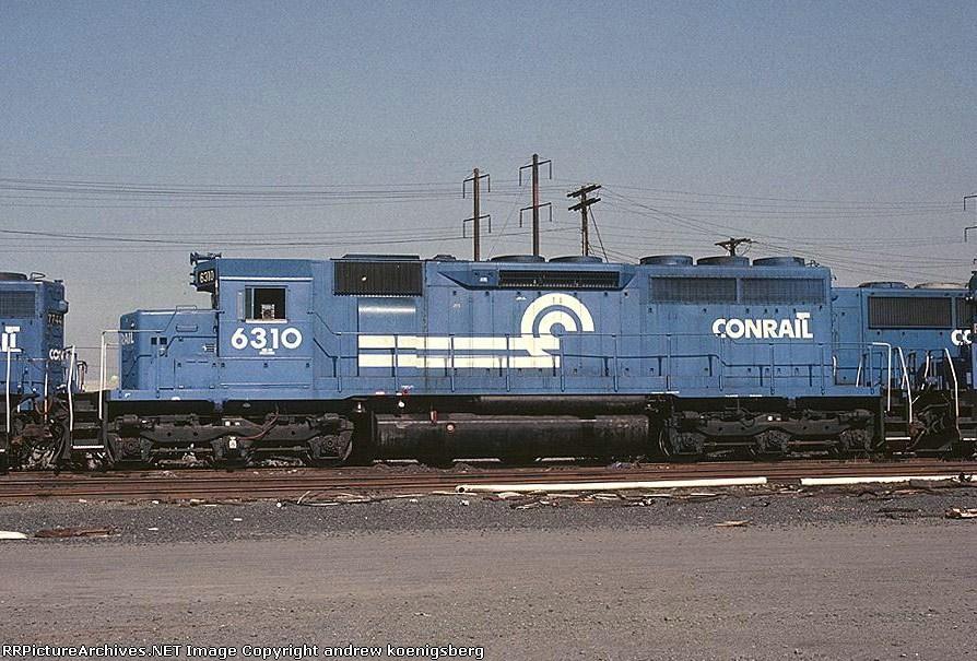 Conrail EMD SD-40 6310