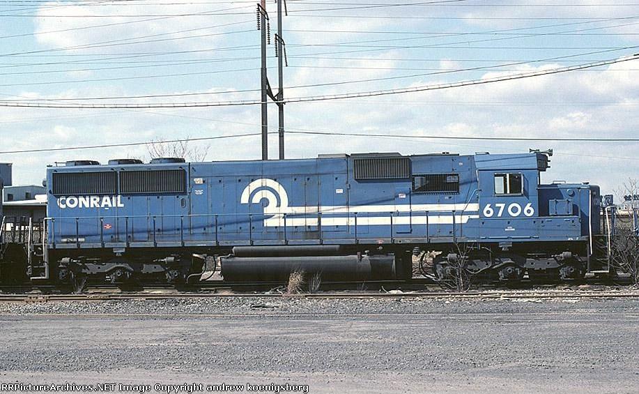 Conrail EMD SD-50 6706