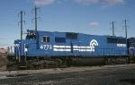 Conrail EMD SD-50 6772