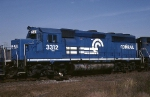 Conrail EMD GP-40-2 3312