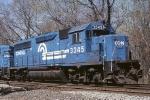 Conrail EMD GP-40-2 3345