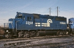 Conrail EMD GP-40-2 3358