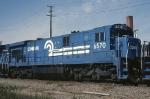 Conrail GE C-30-7A 6570
