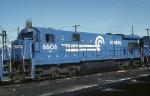 Conrail GE C-30-7 6606