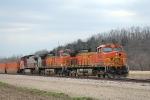 BNSF 4690 BNSF 5204