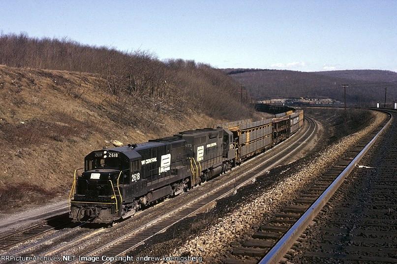 Penn-Central General Electric U-25-B 2618