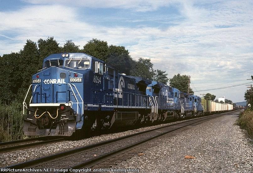 Conrail GE C-40-8W 6054