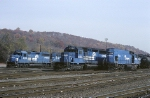 The west end of Conrail's Allentown yard