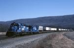 Conrail SD-40-2 6417