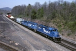 Conrail SD-40-2 6431 is heading south on the old Reading Lines with an ALCA (Allentown-Camden)