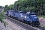 Conrail (ex-E-L) SD-45-2's 6658 & 6664 are returning to Cresson