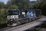 Norfolk Southern C-40-9W 9243 has NS's version of PITO (Pittsburgh-Toledo)