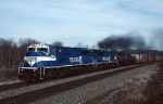 "Conrail ""Superpower"" SD-80MACs speed thru with PITO (Pittsburgh-Toledo)"