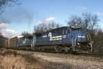 Conrail ML-440 (Sterling, Mich.-Newark) has GE C-39-8 6007 up front today
