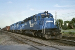 Conrail EMD SD-40 6314 blasts thru with ALSR (Allentown-Southern Railway)