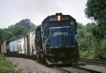 Conrail EMD SD-40-2 6424 speeds PIAL (Pittsburgh-Allentown) on the last miles to the yard