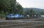 The power for today's ALSR (Allentown-Southern Railway) is an EMD SD-50 and a pair of EMD SD-40-2's