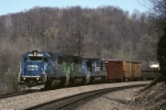 Conrail EMD SD-50 6775 is on the point of PITO (Pittsburgh-Toledo)