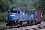 Conrail EMD SD-50 6823 is on the point of PITO (Pittsburgh-Toledo)