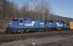 A set of Conrail EMD GP-38-2's prepare to set out with the C&F Shifter