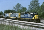 CSX EMD GP-40-2 6435