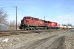CP 9572 with AP Moeller reefer train