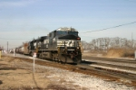NS 9855 heads for Elkhart