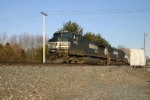NS 9445 on the way to the dumper at Burns Harbor