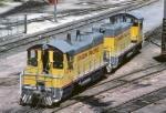 Union Pacific EMD SW-10's