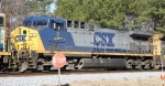 CSX 2 is headed southbound