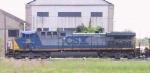 CSX 26 rolls through the yard 