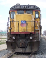 Union Pacific work Train
