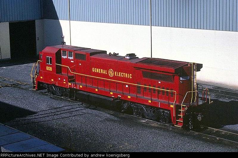 General Electric Demonstrator B-40-8 808