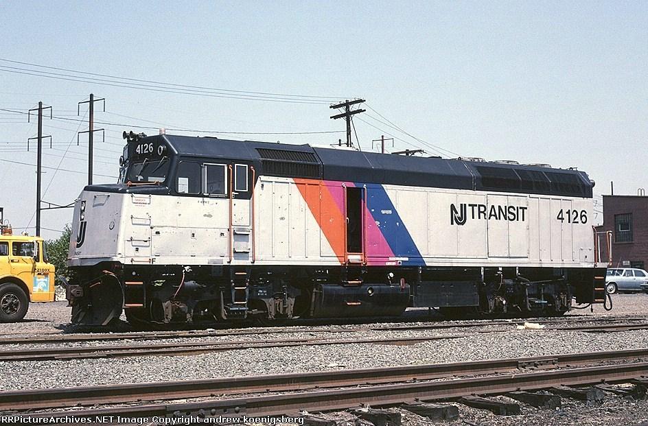 New Jersey Transit EMD F-40PH 4126