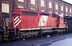 "Central Railroad Company of New Jersey ""Red Baron"" SD-40 3067"