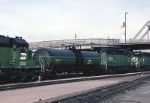 Burlington Northern Fuel Tender 34