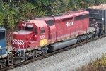 HLCX EMD SD-40-2 6256