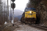 coal loads coming down the loops clear sevier siding