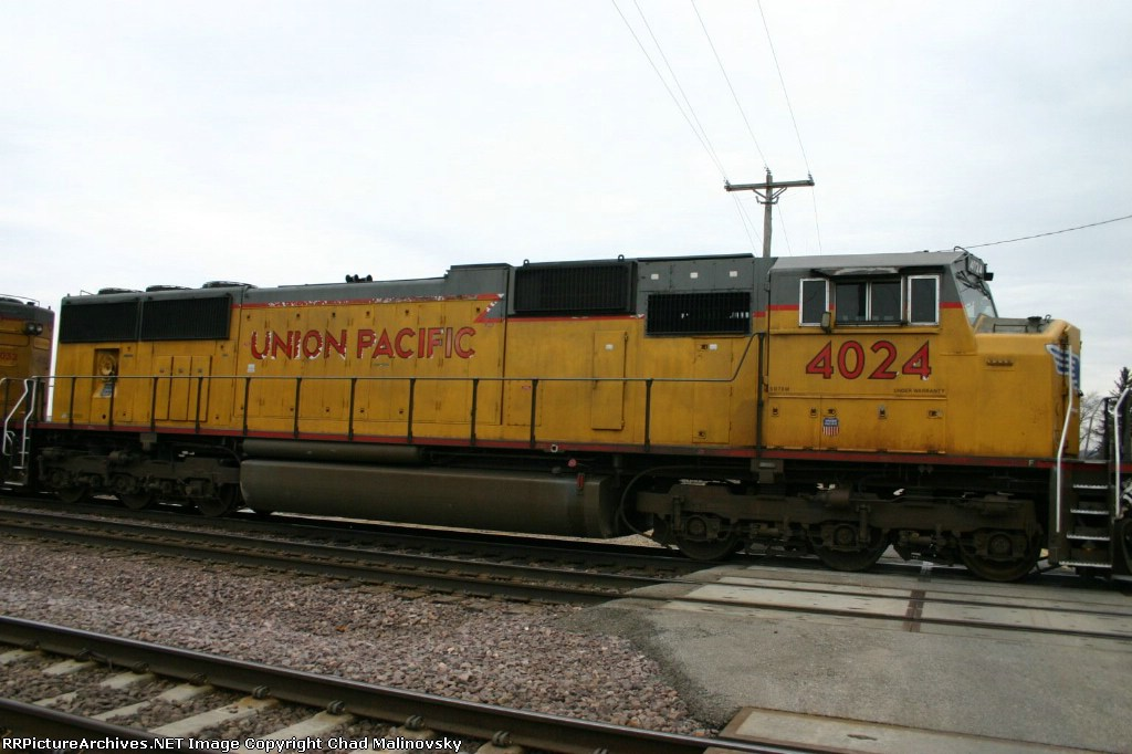 UP 4024